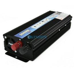 Argentina DHL 5 UNIDS Auto Accesorios 2000W Inversor de corriente DC 12V AC 220V Puerto USB Convertidor de potencia para automóvil Suministro