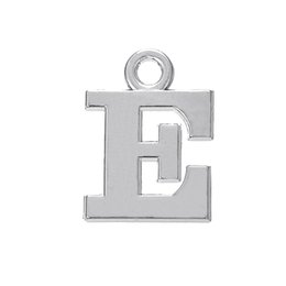 Wholesale Delta Charms - Antique Silver Plated Letter E & Delta & Gamma Charms DIY Letter Charms for Jewelry Making 100Pcs lot