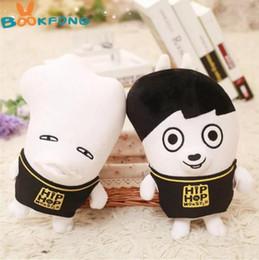 Wholesale Kpop Anime - 1pc Youpop KPOP Korean Fashion BTS Bangtan Boys plush doll cute cartoon toy boyfriend plush toy best valentines gifts