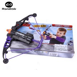 Wholesale Plastic Toy Guns For Kids - Baby Power Orbeez Toys Boy Gun Weapons Avengers Hawkeye Longshot Bow And Arrow Ammo Toy Gift For Children Kids Play Outdoor