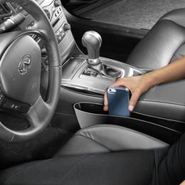 Vente en gros - 2 Pcs CATCH CADDIE Siège de voiture Pocket Catcher Organizer Store Siège de voiture Espace Save Store PP Stowing Tidying CS198 ? partir de fabricateur
