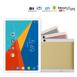 """Wholesale Android Tablets 16gb - New 10 inch Tablet pc metal shell Android 6.0 IPS 1920x1200 Quad Core show octa core 4GB RAM 64GB ROM Dual SIM Card 10"""" Phablet"""