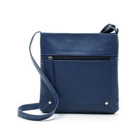 Wholesale Messenger Bag Minimalist - Wholesale-2016 New Style Minimalist Crossbody Bag Women Ladies Fashion Small Shoulder Bag PU Leather Women Messenger Bags bolsas Hot Sale