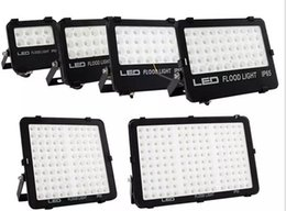 Wholesale Floodlight Design - New Design SMD LED Floodlights for outdoor lighting 10W 20W 30W 50W 100W 150W waterproof Reflector Floodlight high brightness AC85-265V LLFA