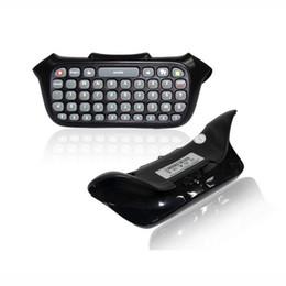 Para Xbox 360 Joystick Controller Chatpad Mensajero de texto inalámbrico Teclado Teclado Texto Chatpad con paquete al por menor desde fabricantes