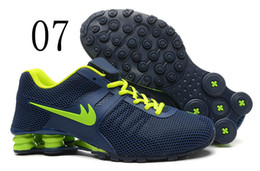 Wholesale Shox Athletic - free shipping Hot Sell New Shox NZ Running Shoes Mens Quality Fashion Athletic Sport Shoes Size: 7-12