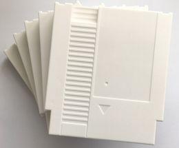 2019 blu ray original Plástico Shell da substituição branca do cartucho de jogo dos pinos da cor 72 para o console de NES