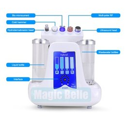 Wholesale Skin Care Product Machine - Newest generation 5 in 1 hydro dermabrasion machine Skin Rejuvenation skin care product for salon use