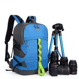 Wholesale Open Videos - Wholesale- SINPAID Waterproof DSLR SLR Digital Camera Backpack Multi-function Camcorder Video Bag for Nikon Canon EOS Sony Casio Panasonic