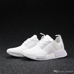 Wholesale Cheap Khaki Flat Shoes - 2017 Wholesale Discount Cheap New NMD Runner PK Primeknit Men's & Women's Running Shoes Fashion Running Sneakers Free Shipping With Box