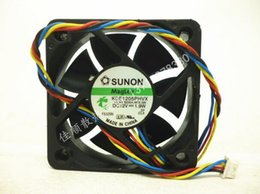 Wholesale 12v Fan Control - Original SUNON 5015 5CM 1.9W KDE1205PHVX four wire PWM speed control fan 12V