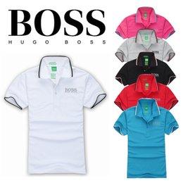 Wholesale Men S Fashion Shirts - New 2017 Brand POLO Shirt Men Cotton Fashion Men's Brand letter embroidery LOGO Polo Summer Short-sleeve Casual Shirts High Quality S-XXXL