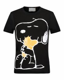 Wholesale Jackets Casual Men Stylish - Free delivery: 2017 people's latest fashion brands short sleeved T-shirts stylish funny Snoopy print T-shirt cool jacket men's T-shirt