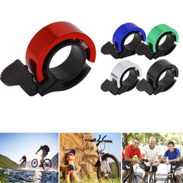 Wholesale Bicycle Bell Horn - Aluminum Alloy Loud Horn Bike Cycling Handlebar Alarm Ring Bicycle Bell Bicycle Parts 22.2mm-24mm