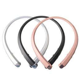 Новые hbs онлайн-Новый HBS-910 HBS 910 CSR 4.0 Tone Infinim Беспроводные Bluetooth-наушники Спортивные наушники с шейным ободом Handsfree HBS910 для iphone7 Бесплатно DHL