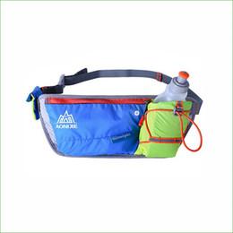 7260ec3b0758 reflective bag pack Promo Codes - Wholesale-RWS04 New Outdoor Running  Jogging Water Bottle Waist