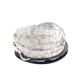 Nova luz de Tira CONDUZIDA 5050 DC12V 5 M 300led Flexível RGB Bar Luz Super Brilho Não-impermeável Decoração de Casa Interior cheap waterproof rgb led light bar de Fornecedores de barra de luz led rgb impermeável
