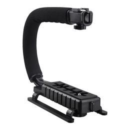 Wholesale C Shape Stabilizer - Wholesale- Top Deals Pro Stabilizer C-Shape Bracket Video Handheld Grip fit for Camcorder Camera DSLR