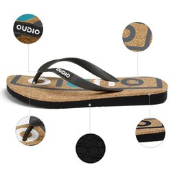 Wholesale Everyday Shoes - 2017new summer Non-slip Flip Flops Beach Slipper PU sole rubber Everyday casual slippers Injection shoes thickness bottom
