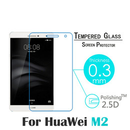 Wholesale Resistances T2 - Wholesale- Premium Explosion-proof Tempered Glass For Huawei Mediapad T2 7.0 Pro Tablet Screen Protector For Huawei Mediapad T2 7.0 pro