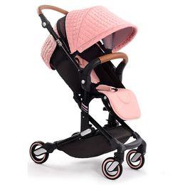 Wholesale Lightweight Prams Strollers - Babysing High Landscape Portable Lightweight Baby Strollers Foldable Baby Pram Pushchairs Kinderwagen Can Take to Plane I-GO