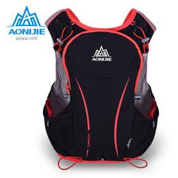 Wholesale Outdoor Vests For Men - Wholesale- AONIJIE sport bag Outdoor Sports Backpack Women   Men Marathon Hydration Vest Pack for Exchange Cycling Hiking Water Bag