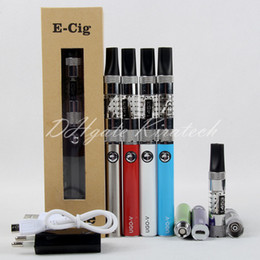 Wholesale Ecigarette Atomizers China - 1453 Clearomizer Coil Vaporizer Pen UGO-V Ecigarette Starter Kit E liquid Atomizer Replacement Coil Vape Box Kits Shenzhen China Direct