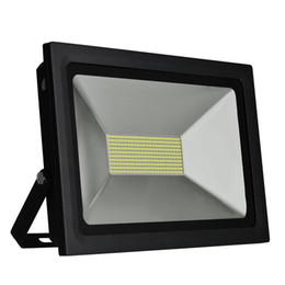 Wholesale 15w Flood Light - Ultrathin LED Flood Light 200w 150w 100W 60W 30W 15W LED Floodlight IP65 Waterproof 220V 110V LED Spotlight Outdoor Lighting