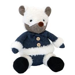 Wholesale Cute Big Teddies - Cute plush bear animal toy doll big nose white bear plush doll