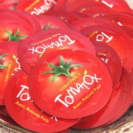 Wholesale Tonymoly Wholesale - Free Shopping Korea Original Tonymoly Tomatox Magic Massage pack whitening moisturizing 3 minute effective mask Cream 1ml