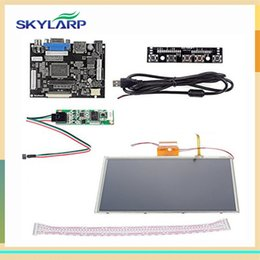 Wholesale Pi Touch Screen - Wholesale- skylarpu 9 inch for AT090TN10 HDMI VGA Digital LCD Driver Board with Touch Screen for Raspberry Pi