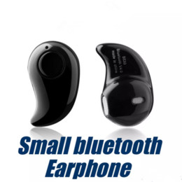 Wholesale Hidden Bluetooth Earphones - Iphone 7 S530 Mini Wireless Small Bluetooth Earphone Stereo Light Stealth Headphone Headset Earbud With Mic Ultra-small Hidden OM-F5