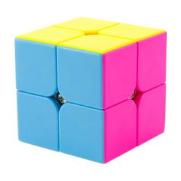 Argentina Lo nuevo Yongjun YJ Moyu Yupo 2x2x2 Profissional Cubo Mágico Competencia Velocidad Puzzle Cubos Juguetes para niños Niños cubo mágico Suministro