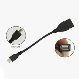 Адаптер кабельного хоста micro usb otg онлайн-USB женщина к Micro USB 5 контактный разъем адаптера хост OTG данных зарядное устройство кабель адаптера