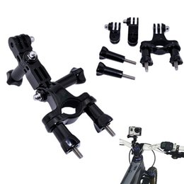 Wholesale Gopro Hero2 Accessories - GoPro accessories Bike Motorcycle Handlebar Seatpost Pole Mount & 3 Way Adjustable Pivot Arm for Go pro Hero2 3 3+ xiaomi yi