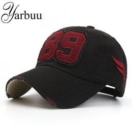 Wholesale Good Sun Hats For Men - Wholesale- [YARBUU] Baseball caps new fashion good quality solid snapback cap for Embroidery 89 sun hat for men and women free shipping