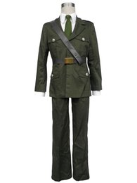 Wholesale Costume Hetalia - Hetalia axis powers England uniform cosplay costume halloween
