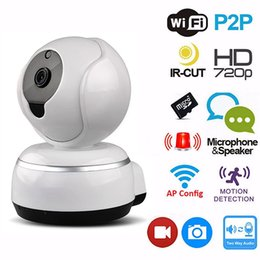 Wholesale Video Surveillance Outdoor - 720P Home Security Wireless WIFI IP Camera PanTilt HD Video Smart Cloud P2P Surveillance Camera Night Vision CCTV Camera Baby Monitor 5pcs