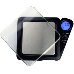 Wholesale mini digital scales wholesale - Mini LCD Electronic Pocket Jewelry Gold Diamond Weighting Scale Gram Digital Portable Weight Scales 100g * 0.01g,dandys