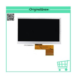 Wholesale Display Tablet Pc Mid - Wholesale- Free shipping 7 inch FPC7006003 , FPC-Y81860 V04 display for tablet PC MID 800*480 ,size:165*100mm