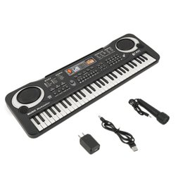 Wholesale Electronic Digital Piano - 61 Keys Digital Music Electronic Keyboard Key Board Gift Electric Piano Gift new arrival