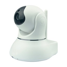 Wholesale Night Vision China - China supplier P2P Network camera Night vision camera CMOS wireless video camera good for home or shop securiety
