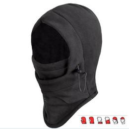 Teto de Capuz de Balaclava Térmico Preto de inverno Caminhadas Ao Ar Livre Ski Windproof Máscara Facial Cap Hat de Fornecedores de aquecedores de pescoço legal