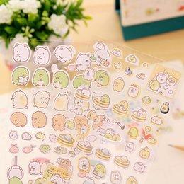 Wholesale Roll Chart - South Korea stupid Meng roll rabbit rabbit rabbit transparent decorative stickers diary album PVC stickers DIY