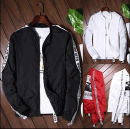 Wholesale Graffiti Sketches - Off White C o Virgil Abloh New Religion Ballpoint Pen Graffiti Men Women Jacket Sketch OFF WHITE Couples Jacket Coat Black White