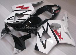 honda 954 fairing white NZ - Abs fairings fit for HONDA CBR900RR 02-03 CBR900RR 954 2002-2003 CBR900 RR 2002-2003 954 fairings+gifts #f8x79 White blk