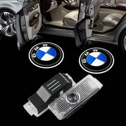 Wholesale Laser Logo Car Door Bmw - 2x car-styling LED Car Lights laser door logo projector light for BMW F01 F02 F03 F04 F07 E70 E71 Welcome Ghost Shadow Lamp