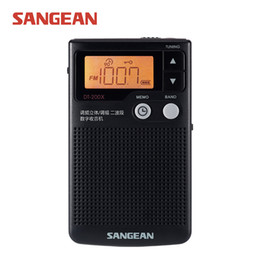 Wholesale Personal Build - Wholesale-SANGEAN DT-200X FM-Stereo AM Audio Digital Tuning Personal Receiver