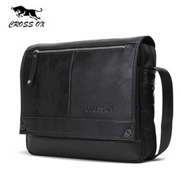Wholesale Ox Bag - Wholesale- CROSS OX 2016 Autumn New Arrival Men's Messenger Bags For Men Cross Body Bag Men's Bag Shoulder Bags Business Casual SL383M