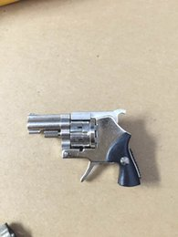 Wholesale Model Scale Pistol Toy - 1 2 scale mini precise mechanism model,304 stainless steel mechanical toys design, Pistol Gun Revolver Wonderful Collection Gif